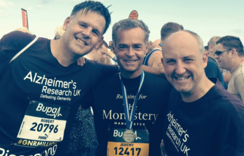 Jeremy Cole completes Great North Run for 9th time