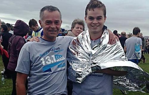 Jeremy Cole completes Great North Run in record time