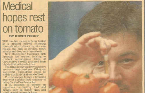 Medical hopes rest on tomato
