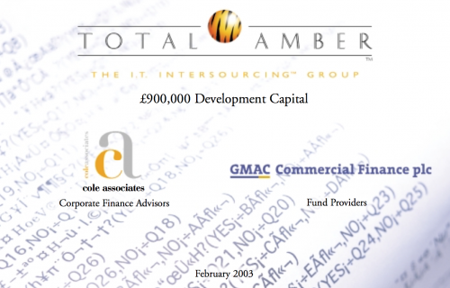 £900,000 Development Capital