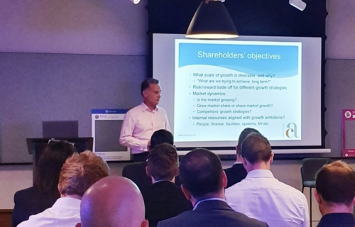 Cole Associates delivers Pro Manchester Presentation on Growth Strategy and Funding
