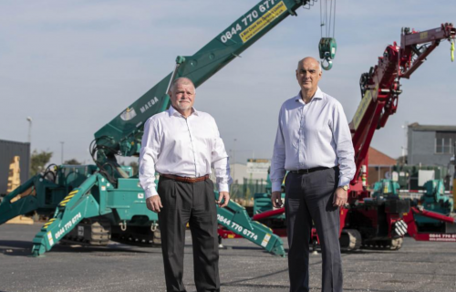 Seven-Figure Deal for Crane Hire Firm